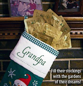 Fill their stockings with the gardens of their dreams!
