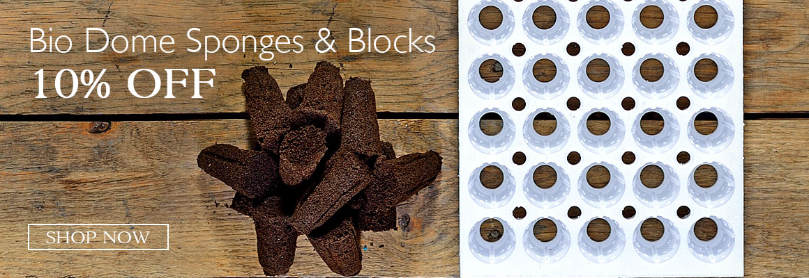 10% Off All Bio Dome Sponges and Blocks