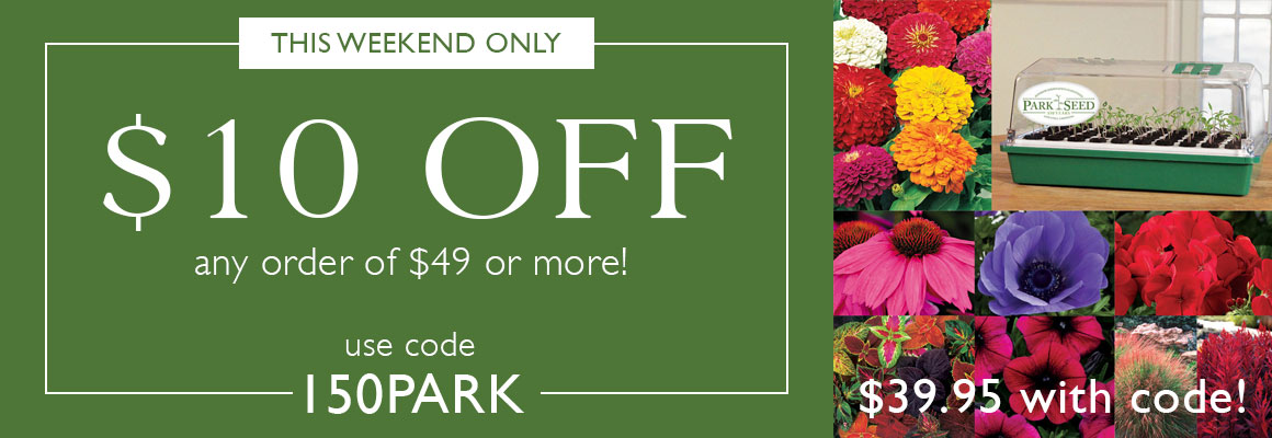 $10 off $49 with code 150PARK