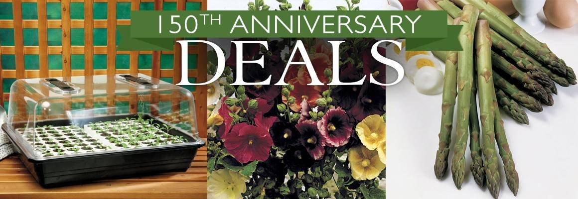 150th Anniversary Deals