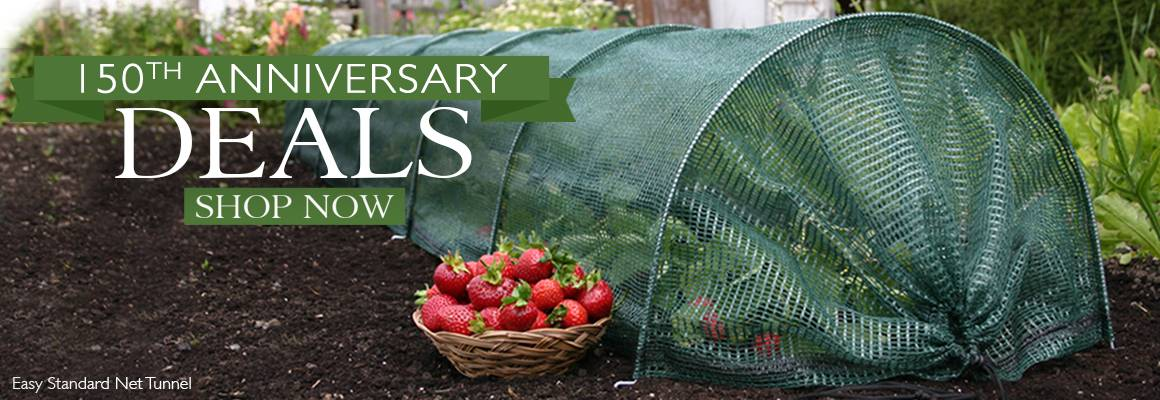 150th Anniversary Deals - Up to 30% Off Select Supplies and Plants!