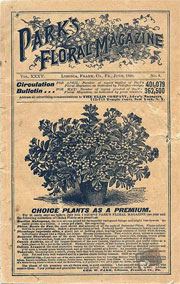 Cover of June 1899 Park's Floral Magazine