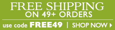Free Shipping on $49+ Orders - Use Code FREE49