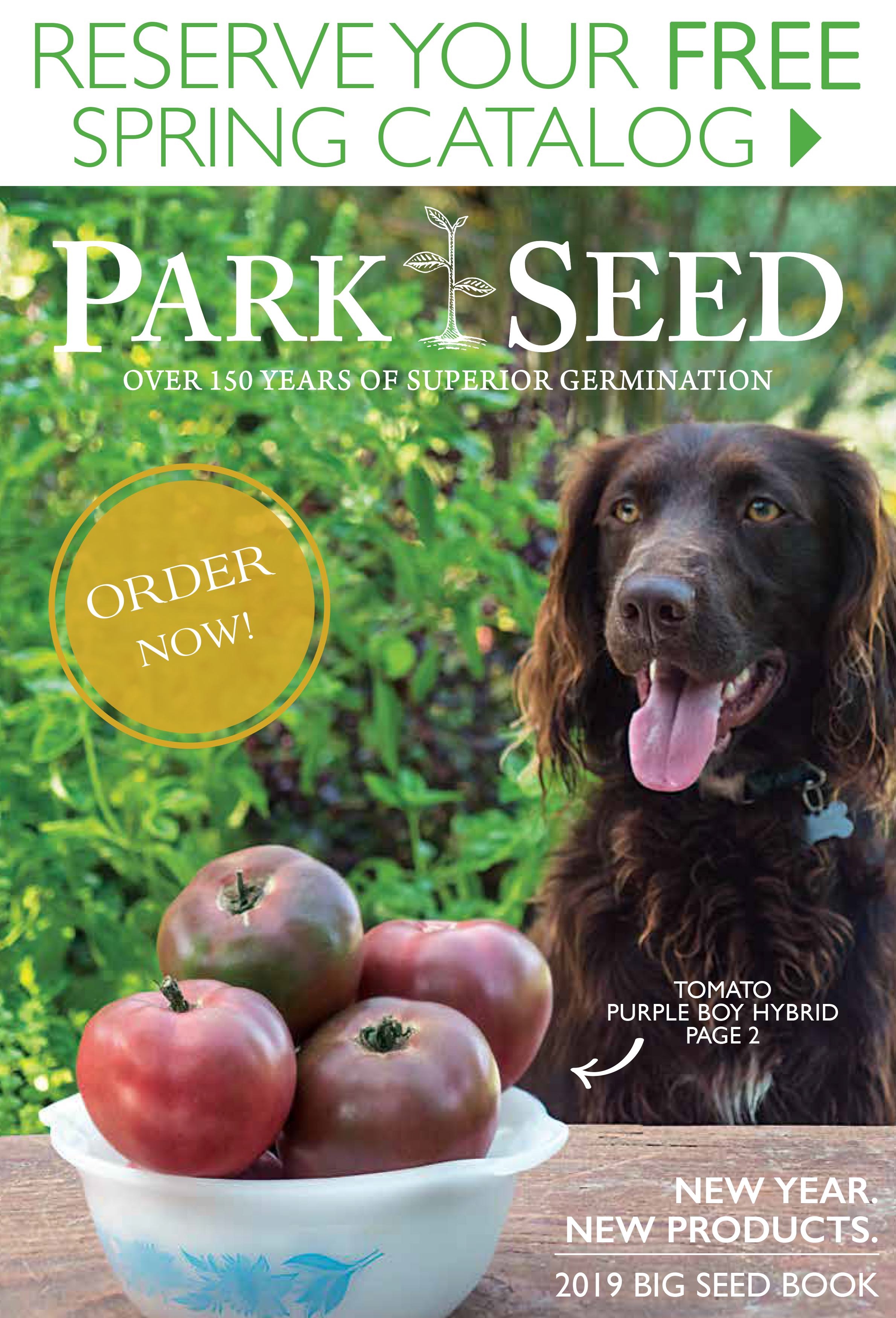 Reserve Your Free Spring Catalog