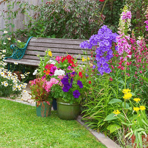 10 Beautiful Flower Bed Ideas