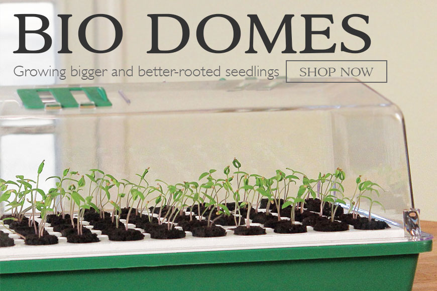 Bio Domes- seed-starting system
