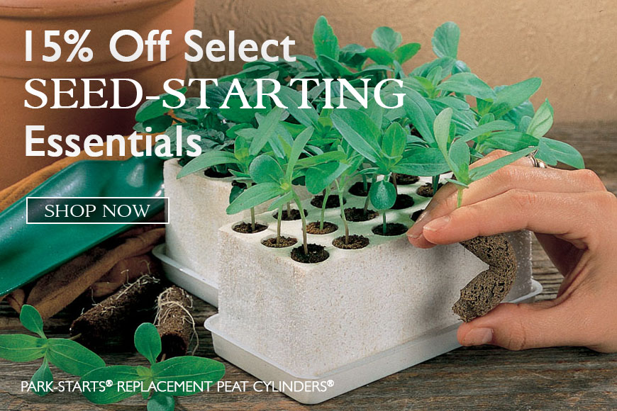 Seed-Starting- 15% off select essentials