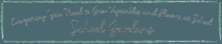 Park Seed School Gardens Banner