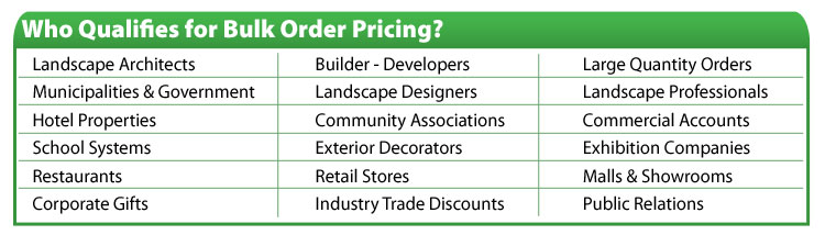 Who Qualifies for Bulk Order Pricing?