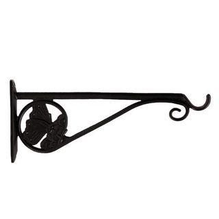 Restorers Iron Butterfly Plant Hanger-Pair-Black Powder Coat