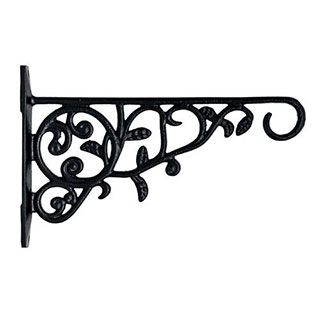Restorers Iron Vine Plant Hanger-Pair-Black Powder Coat