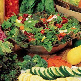 Salad Bowl Mix Organic Greens Seeds Image
