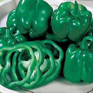California Wonder Organic Pepper Seeds