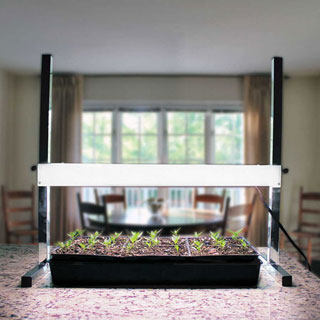 24-inch Table Top Plant Light