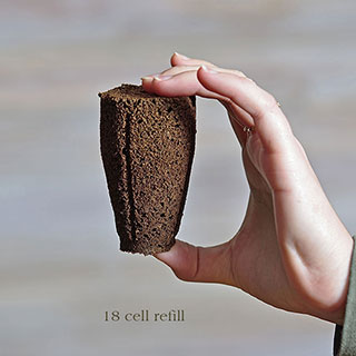 36 Pack Refill Sponges for the 18-cell Planting Block
