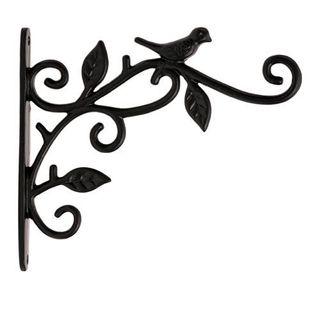 Restorers Iron Bird Plant Hanger - Pair