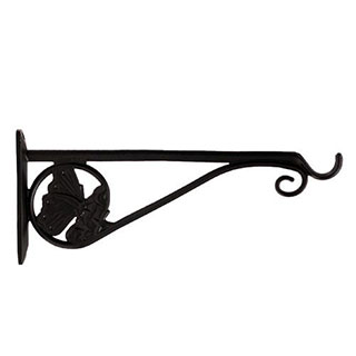 Restorers Iron Butterfly Plant Hanger - Pair