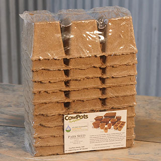 CowPots Biodegradable - Pack of  10 (6-packs) Image