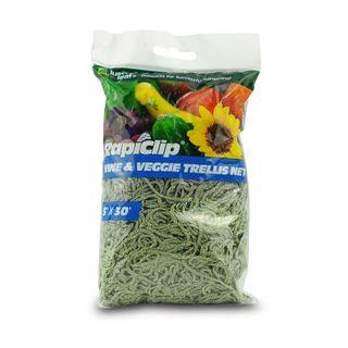 RapiClip Vine and Veggie Trellis Net - 5 x 30