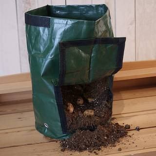 Grow Bags with Flap and Handles Collapsible 10 Gallons
