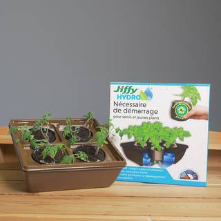 Jiffy Hydro Starter Kit for Seedlings