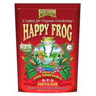 FoxFarm Happy Frog® Tomato & Vegetable Fertilizer