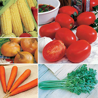 Ultimate Park Seed Vegetable Soup Collection