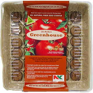 Starter Pellet Fiber Greenhouse