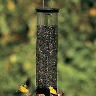 The Squirrel-Tipper Bird Feeder