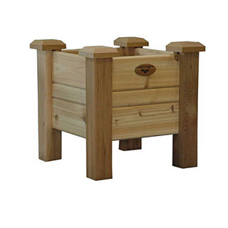 Western Red Cedar Planter Boxes Natural Small