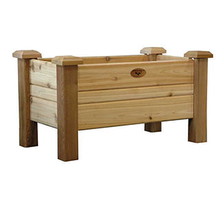 Western Red Cedar Planter Boxes Natural Medium