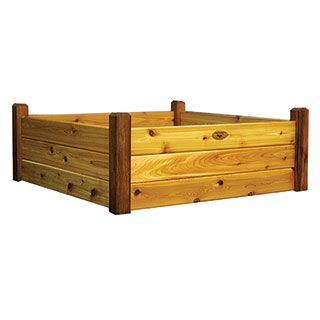 Raised Garden Bed Safe Finish Medium
