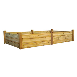 Raised Garden Bed Natural Extra Large