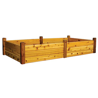 Raised Garden Bed Safe Finish Extra Large