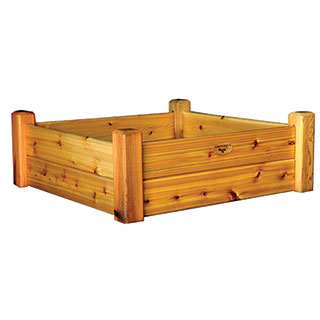 Raised Garden Bed Safe Finish Small