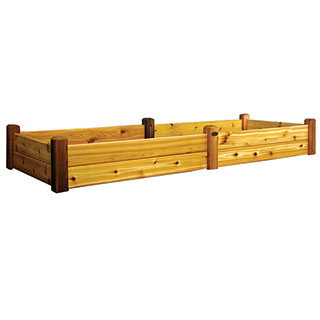 Raised Garden Bed Safe Finish Large