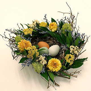 Spring Nest Centerpiece