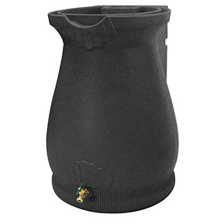 Rain Wizard Urn (Dark Granite)