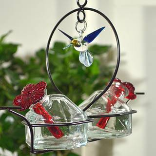 Bouquet® 2 Deluxe™ Hummingbird Feeder