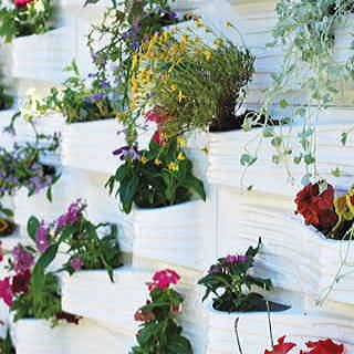 Plantscape Log 2-Pack Vertical Planting Panels (8 planting pockets)