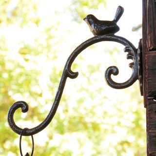 Cast Iron Bird Hook