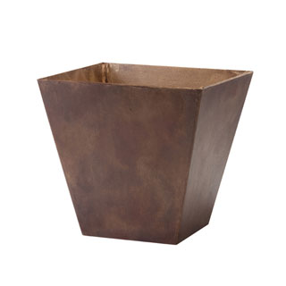 Ella 12-inch Square Pot (Teak)