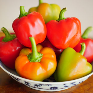 Sweetie Pie Hybrid Bell Pepper Seeds