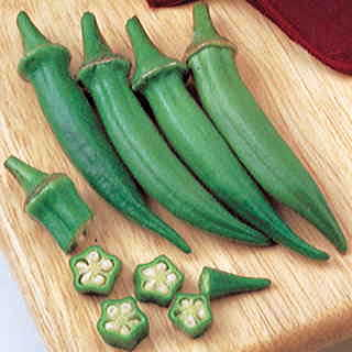 Organic Clemson Spineless 80 Okra Seeds