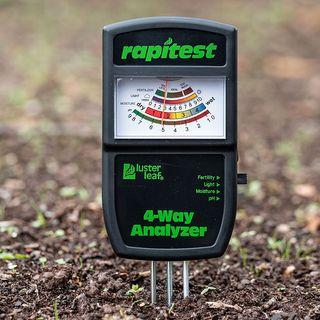 Electronic 4-Way Soil Analyzer