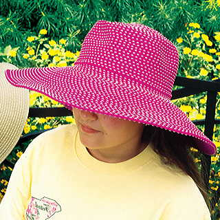 Fuchsia Sun Protection Hat