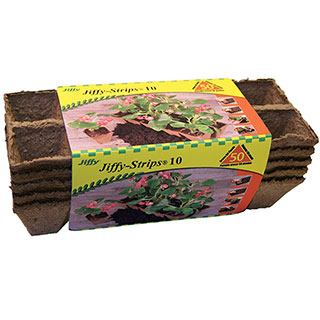 Jiffystrips® Biodegradable Pack of 5 (10-packs)