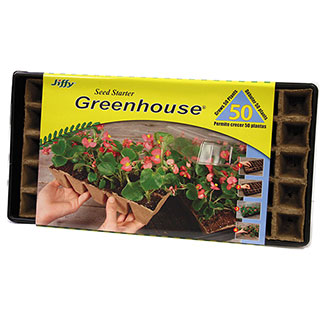 Jiffy Strip Greenhouse