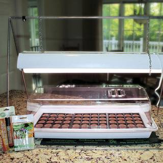 Parks Complete Grow Light and Seed Starter Kit