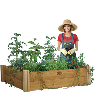 Modular Raised Garden Bed